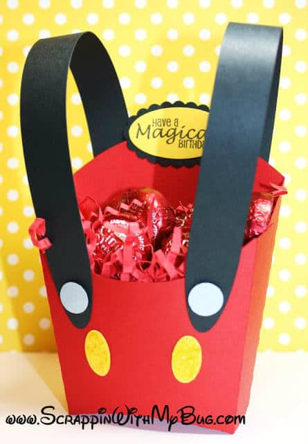 18 Mickey Mouse Fry Box Treat Container