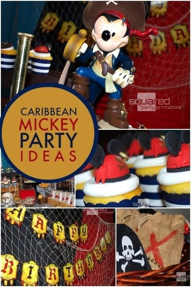 29 Mickey's Pirates of the Caribbean Party