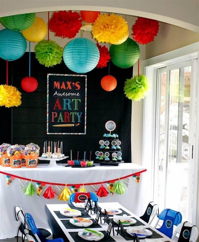Paint Party Table Set