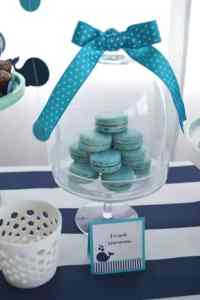 A Boys Whale Themed Baby Shower - Spaceships and Laser Beams