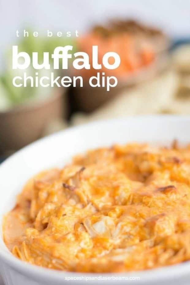 Buffalo Chicken Dip Crockpot