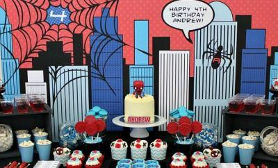 feature-boy's-spiderman-theme-birthday-desserts