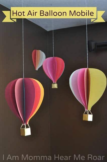 Hot Air Balloon Mobiles