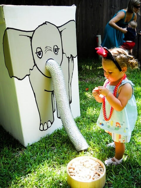 Feed the Elephant Game