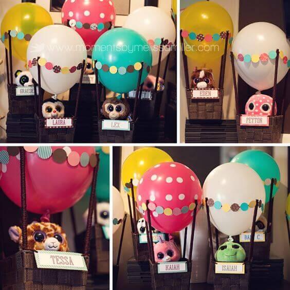 Hot Air Balloon Party Favors