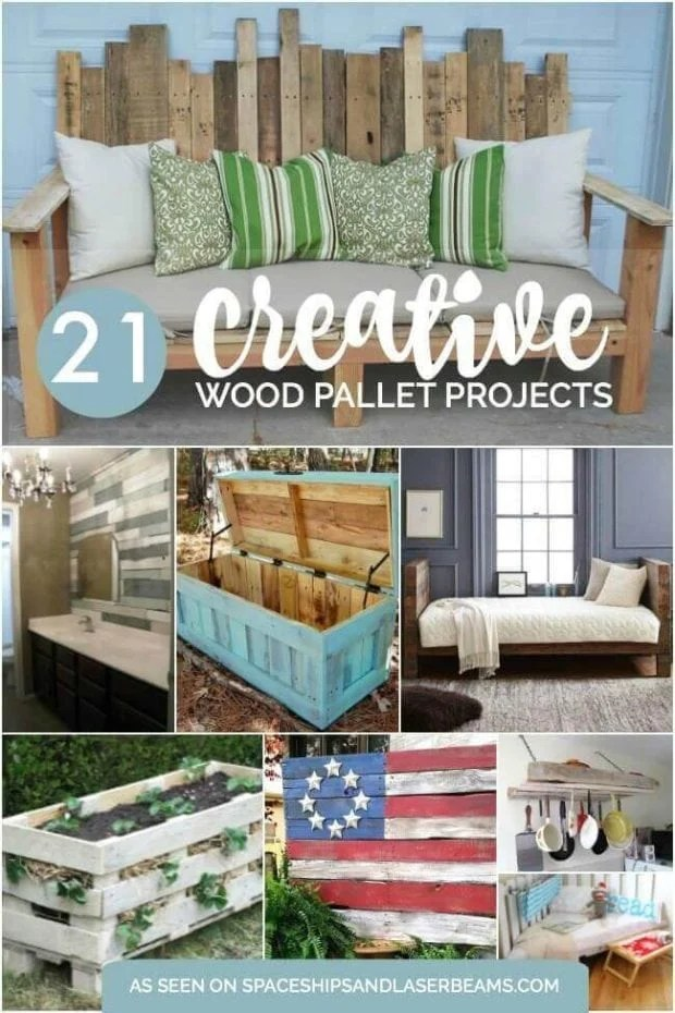 21 Creative Wood Pallet Projects Spaceships And Laser Beams