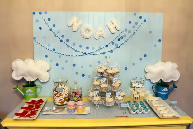 April Shower Birthday Party