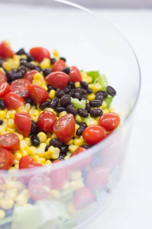 How to Make Mexican Layer Salad