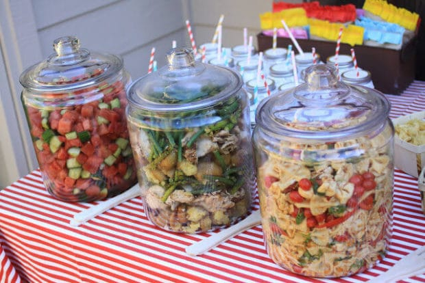 Keep your salads free of bugs with these jars.