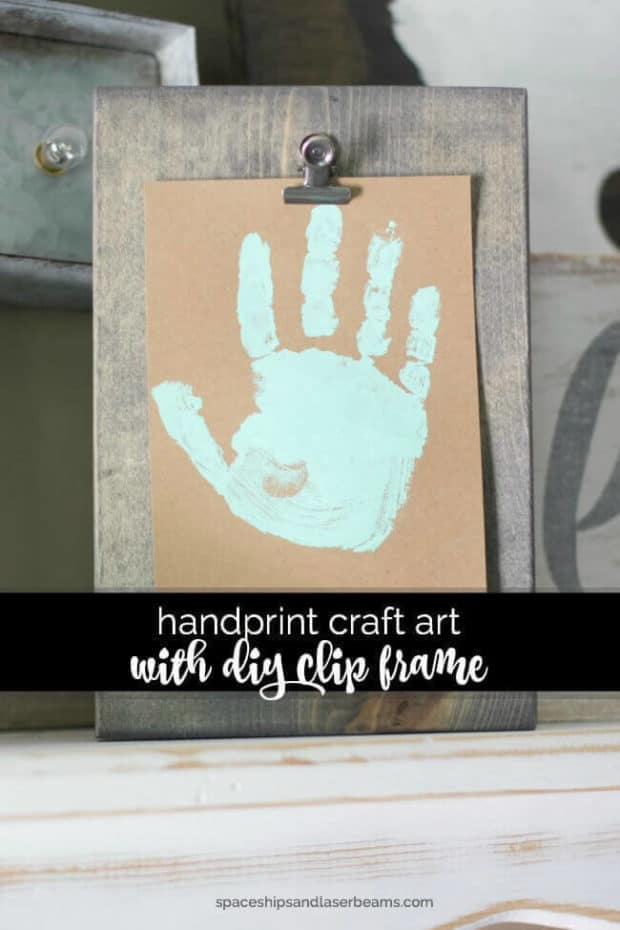 19 Father S Day Handprint Gift Ideas Spaceships And