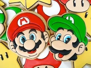 These Super Mario cookies are amazingly detailed.