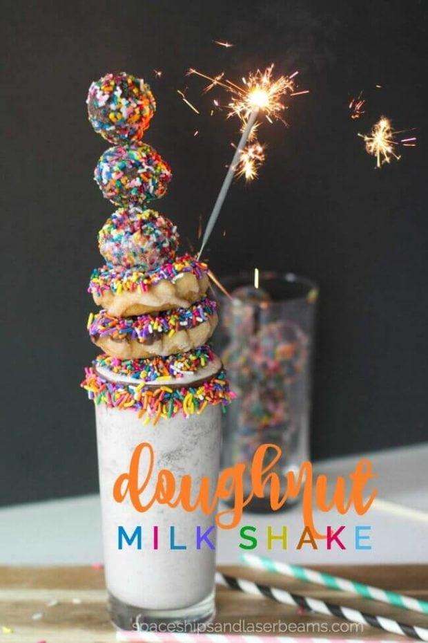 Outrageous Doughnut Milkshake