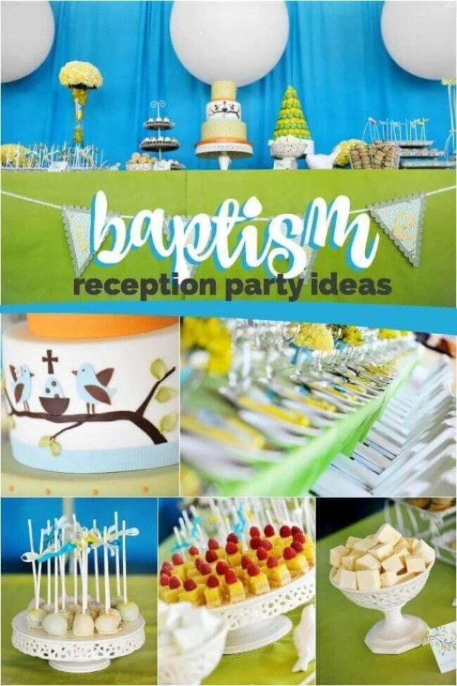 Baptism Reception Party