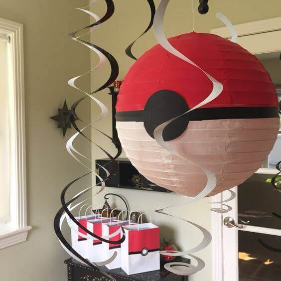 DIY Pokemon Paper Lantern