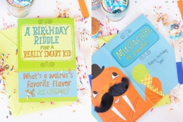 Adorable Birthday Cards for Kids