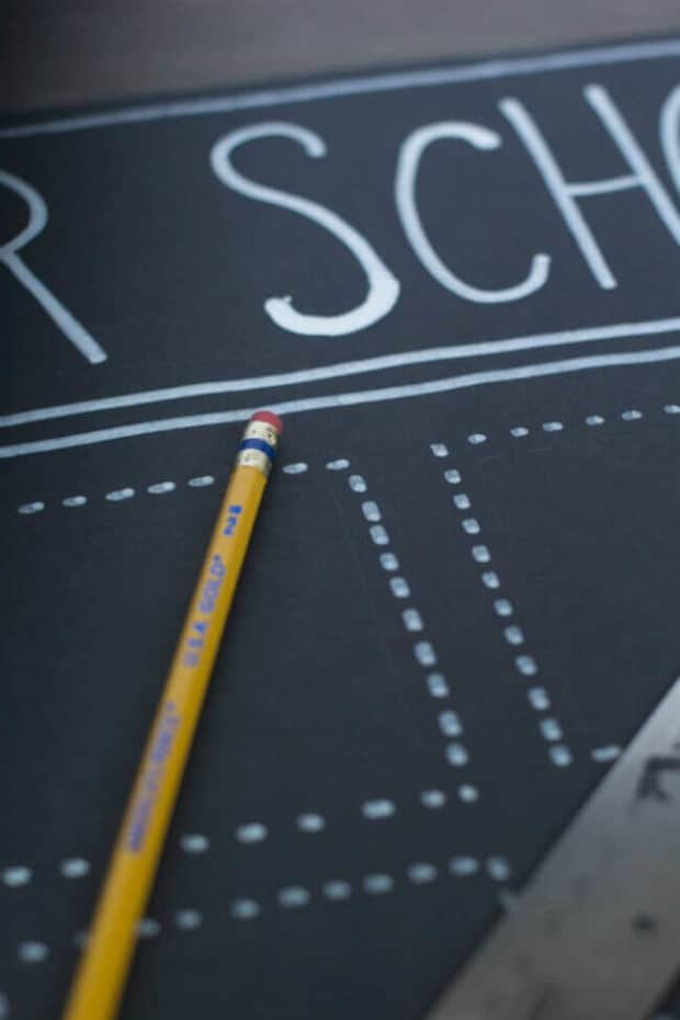 How to Make an After School Organization Board