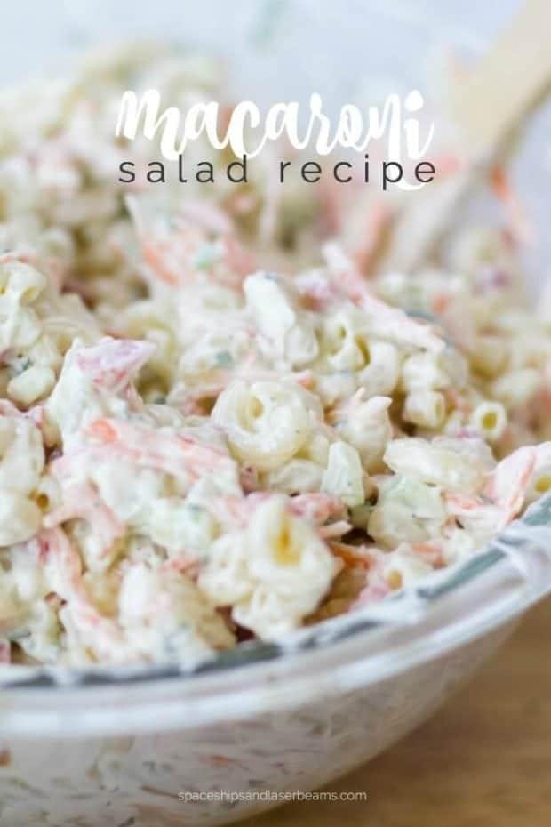 Elbow Macaroni Salad