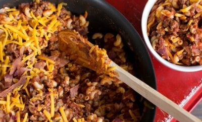 Classic Goulash with Bacon