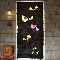 19 Hauntingly Awesome Halloween Door Decorating Ideas ...