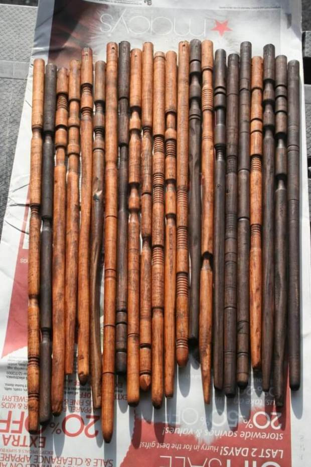 These DIY Wooden Dowel Wizard Wands will turn any muggle into a wizard. They're the perfect accessory for a Harry Potter party.