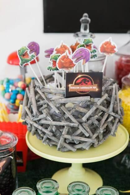 Boys Jurassic Park Cake Pops