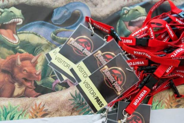 Boys Jurassic Park Themed Party