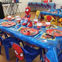 Spiderman Table And Chairs Beach Lovingheartdesigns Kids Chair