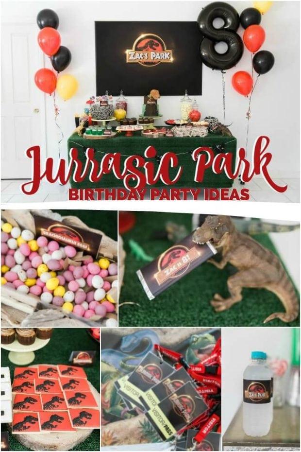 Jurassic Park Birthday Party Ideas