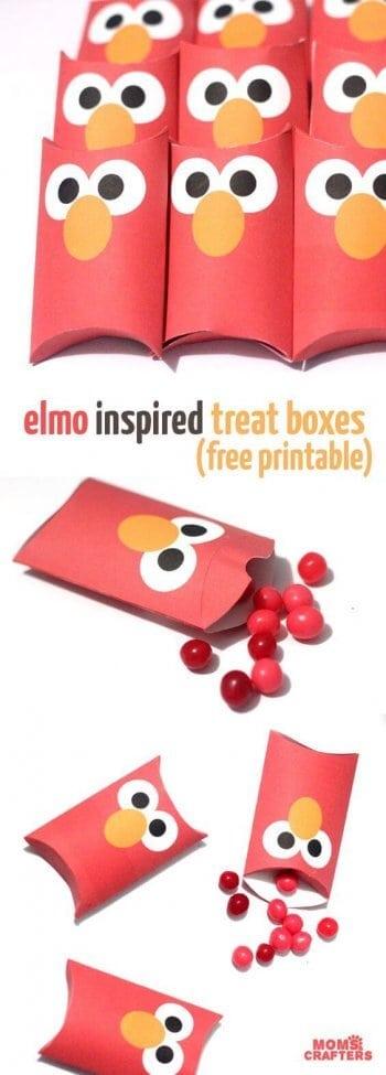 Elmo Treat Boxes