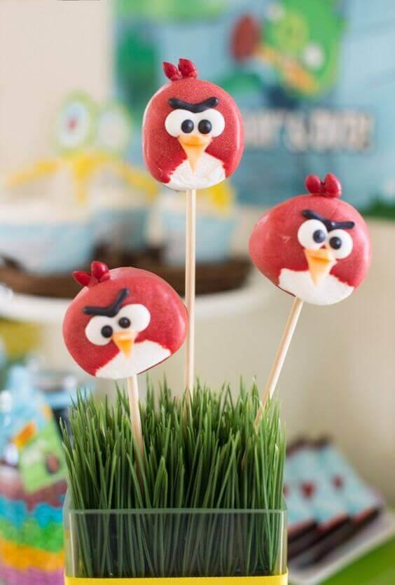 Angry Birds Marshallow Treats