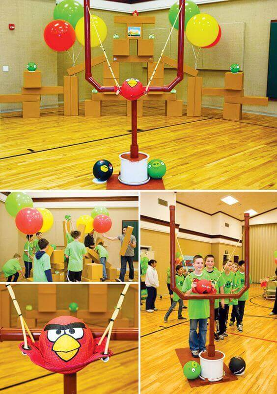 HighFlying Fun 19 Angry Birds Party Ideas Spaceships