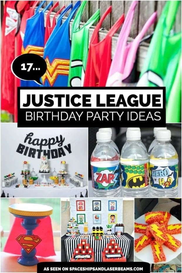 17 Awesome Justice League Party Ideas Spaceships And