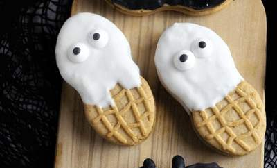 Nutter Butter Ghosts and Bats