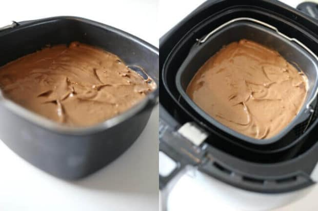 How To Make A Chocolate Cake In An Air Fryer Spaceships