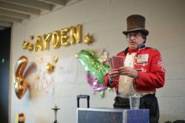 Dragons Love Tacos Birthday party magician