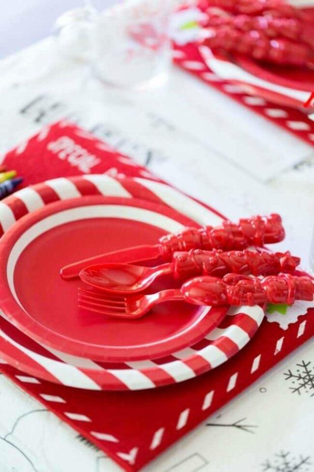 Christmas Kids' Table Decor Ideas