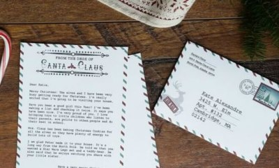 Free Letters to Santa