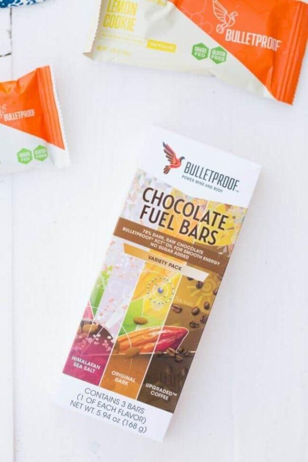 Bulletproof Chocolate Fuel Bar