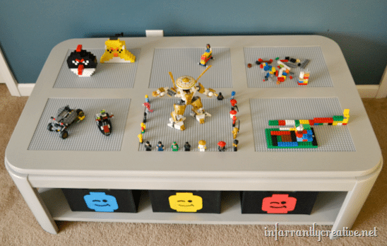 28 LEGO Tables with Storage We Love  Spaceships and Laser
