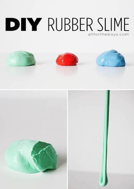 DIY Rubber Slime