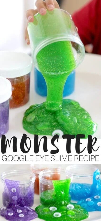 DIY Monster Slime