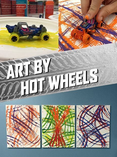Paint with Hot Wheels