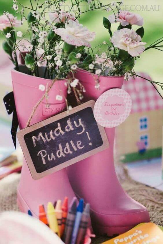 Muddy Puddle Rain Boots