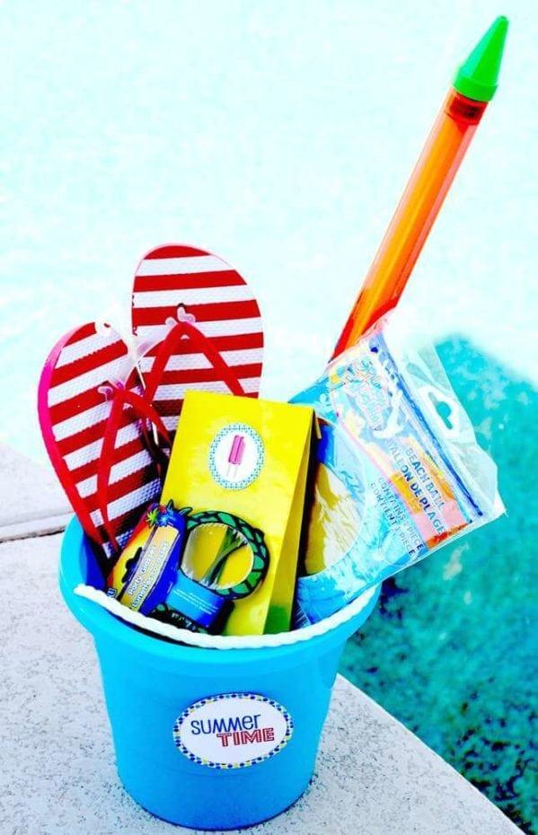 Pool Party Sand Pail Favor