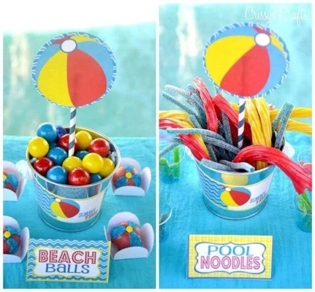 Pool Party Inspired Treat Ideas