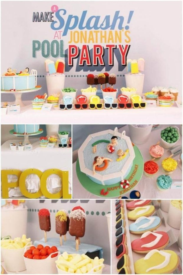 Summer Pool Party Desserts
