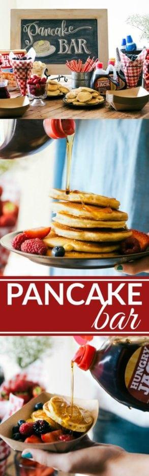 Slumber Party Pancake Bar