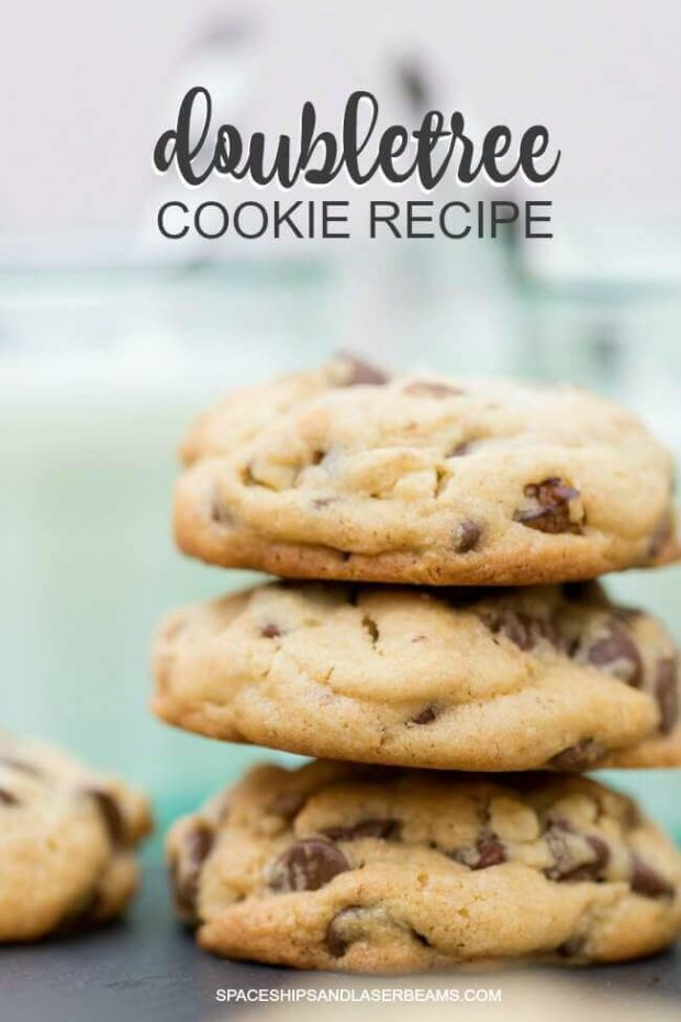 Pile of Doubletree Cookies