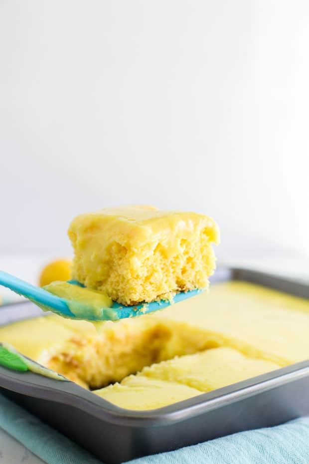 Recipe for Lemon Icebox Cake