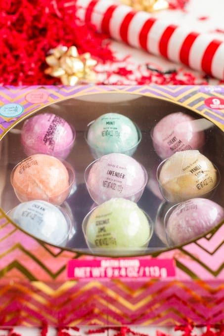 Bath Bombs for Christmas